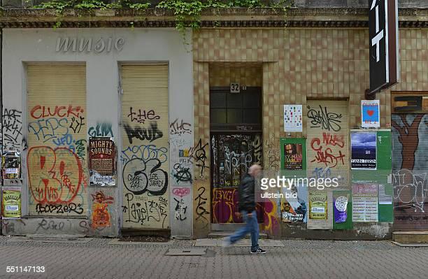 Graffiti Wiener Strasse Kreuzberg Berlin Deutschland