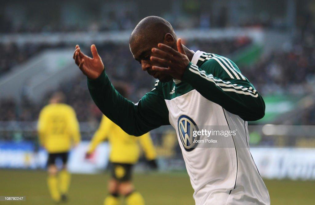 VfL Wolfsburg v Borussia Dortmund - Bundesliga