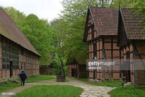 Graftenhof Lippischwestfaelisches Landesmuseum fuer Volkskunde Detmold NordrheinWestfalen Deutschland / westfälisches für