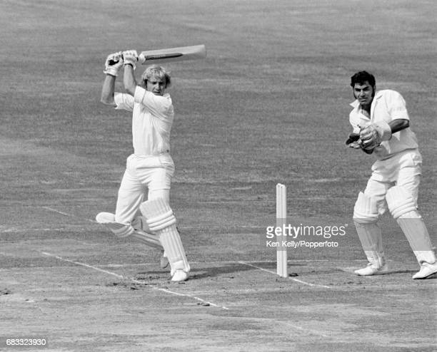 Graham Barlow batting for Middlesex during the Gillette Cup Final between Middlesex and Lancashire at Lord's Cricket Ground London 6th September 1975...