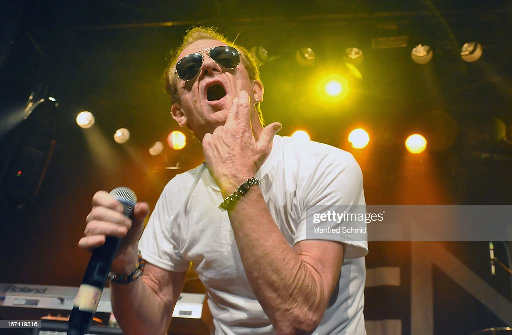 Graham Bonnet formerly of Rainbow performs onstage during the 30th anniversary party of Szene Wien on April 18, 2013 in Vienna, Austria.