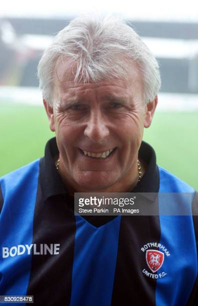 Graham Brown Chief Scout of Rotherham utd2002/2003 SEASON THIS PICTURE CAN ONLY BE USED WITHIN THE CONTEXT OF AN EDITORIAL FEATURE NO UNOFFICIAL CLUB...