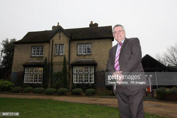 Graham Butland Chief Executive of the East Anglia's Children's Hospice poses outside the hospice in Milton Cambridgeshire as The Duchess of...