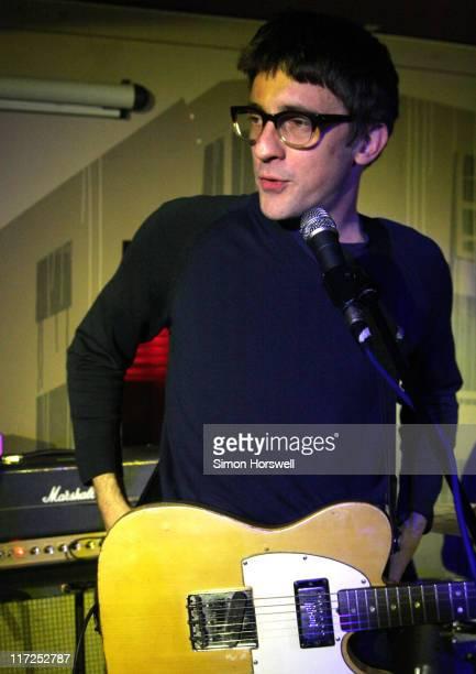 Graham Coxon during Graham Coxon in Concert at Audio in Brighton March 16 2006 at Audio in Brighton Great Britain