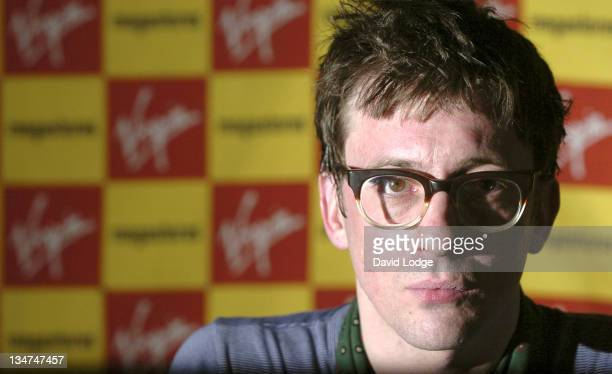 Graham Coxon during Graham Coxon Instore Performance and Signing at Virgin Megastore March 13 2006 at Virgin Megastore in London Great Britain