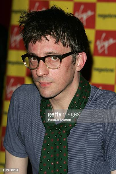 Graham Coxon during Graham Coxon InStore Performance at HMV in London March 13 2006 at Virgin Megastore in London Great Britain