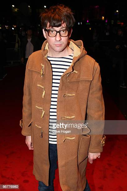 Graham Coxon of Blur attends the world premiere of 'No Distance Left To Run' a documentary film about Blur held the at Odeon West End on January 14...