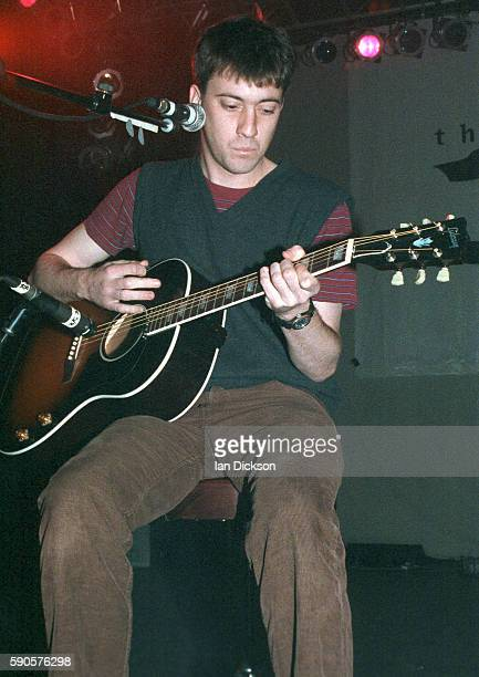 Graham Coxon of Blur performing on stage at Shepherds Bush Empire London 26 May 1994