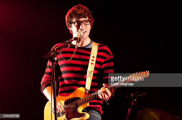 Graham Coxon performs on stage during Bestival at Robin Hill Country Park on September 9 2011 in Newport United Kingdom