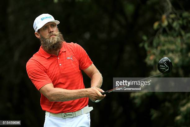 Graham DeLaet of Canada hits off the 11th tee during the final round of the Valspar Championship at Innisbrook Resort Copperhead Course on March 13...