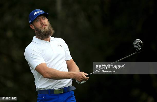 Graham DeLaet of Canada hits off the 11th tee during the first round of the Valspar Championship at Innisbrook Resort Copperhead Course on March 10...