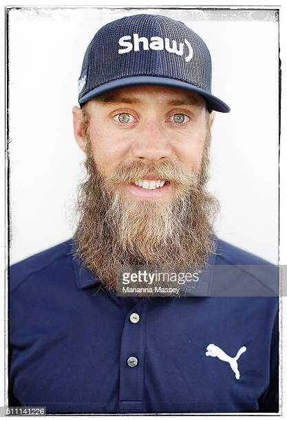 Graham DeLaet of Canada poses for a portrait on February 17 2016 in Pacific Palisades California