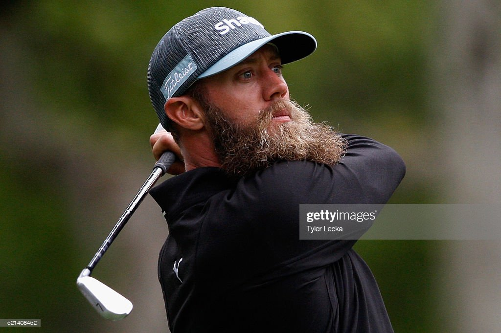 Graham DeLaet watches a shot on the seventh hole during the second round of the 2016 RBC Heritage at Harbour Town Golf Links on April 15, 2016 in Hilton Head Island, South Carolina.