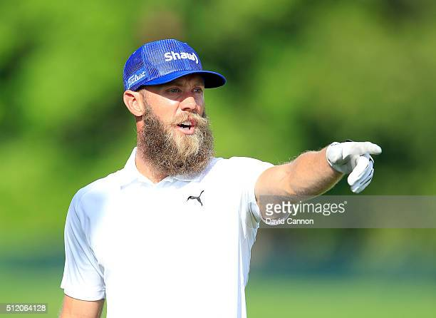 Graham DeLeat of Canada on the driving range during the proam as a preview for the 2016 Honda Classic held on the PGA National Course at the PGA...
