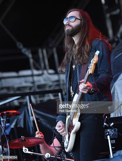 Graham Deloach of A Thousand Horses performs at County Thunder Music Festivals Arizona Day 4 on April 10 2016 in Florence Arizona