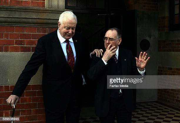 Graham Freudenberg is the former speechwriter for former Prime Minister Gough Whitlam Freudenberg spoke at the Whitlam Institute at the University of...