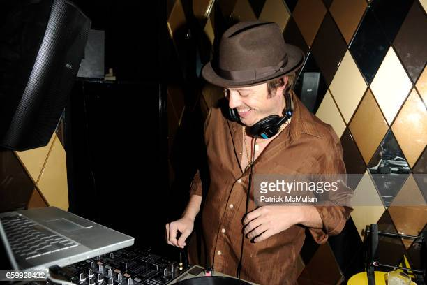 Graham Funke attends Party at WALL Hosted by VITO SCHNABEL STAVROS NIARCHOS ALEX DELLAL at WALL at the W SOUTH BEACH on December 3 2009 in Miami...