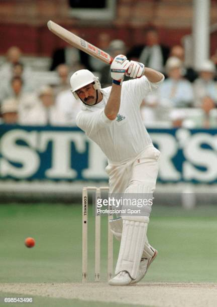 Graham Gooch batting for England during the 2nd Test match between England and Australia at Lord's Cricket Ground London 19th June 1993 Australia won...