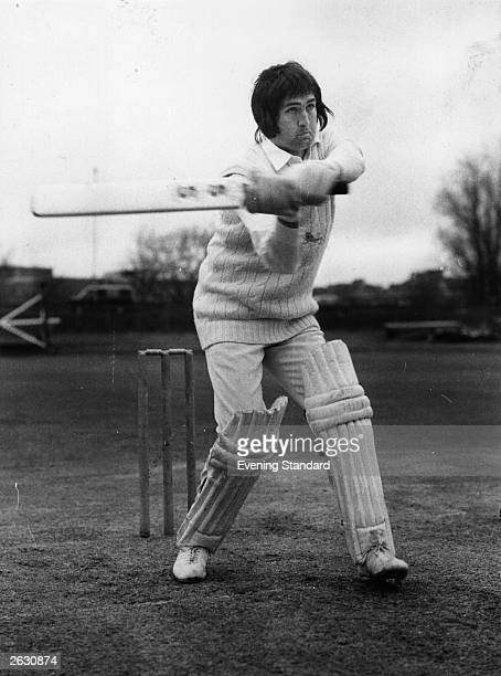 Graham Gooch captain of Essex and England He led a rebel team to South Africa and was banned from International cricket for three years