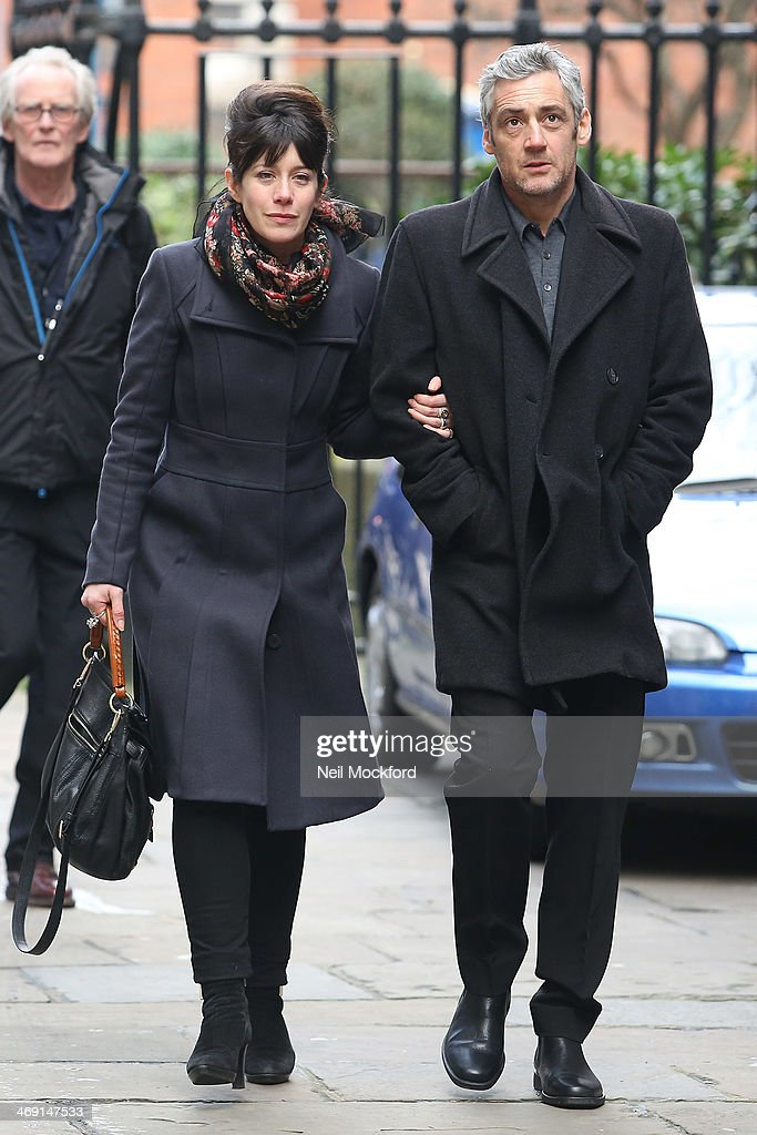 Graham Hawley attends the funeral of Roger Lloyd-Pack at St Paul's Church in Covent Garden on February 13, 2014 in London, England.