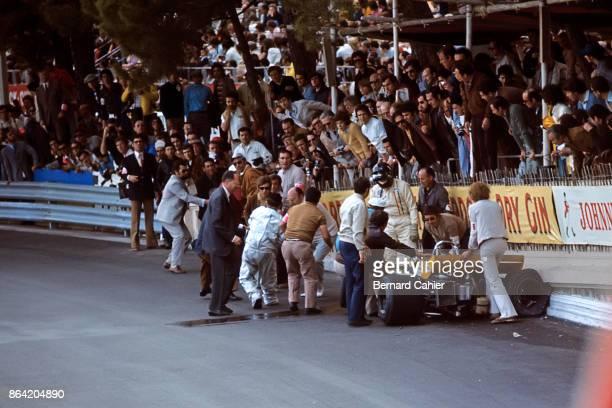 Graham Hill BrabhamFord BT34 Grand Prix of Monaco Circuit de Monaco 23 May 1971