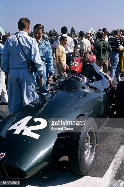 Graham Hill Dan Gurney BRM P25 Grand Prix of Argentina Autodromo Juan y Oscar Galvez Buenos Aires 07 February 1960