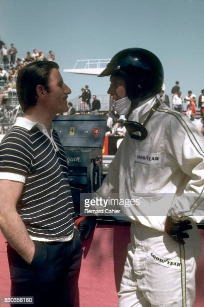 Graham Hill Dan Gurney Grand Prix of Monaco Monaco 07 May 1967