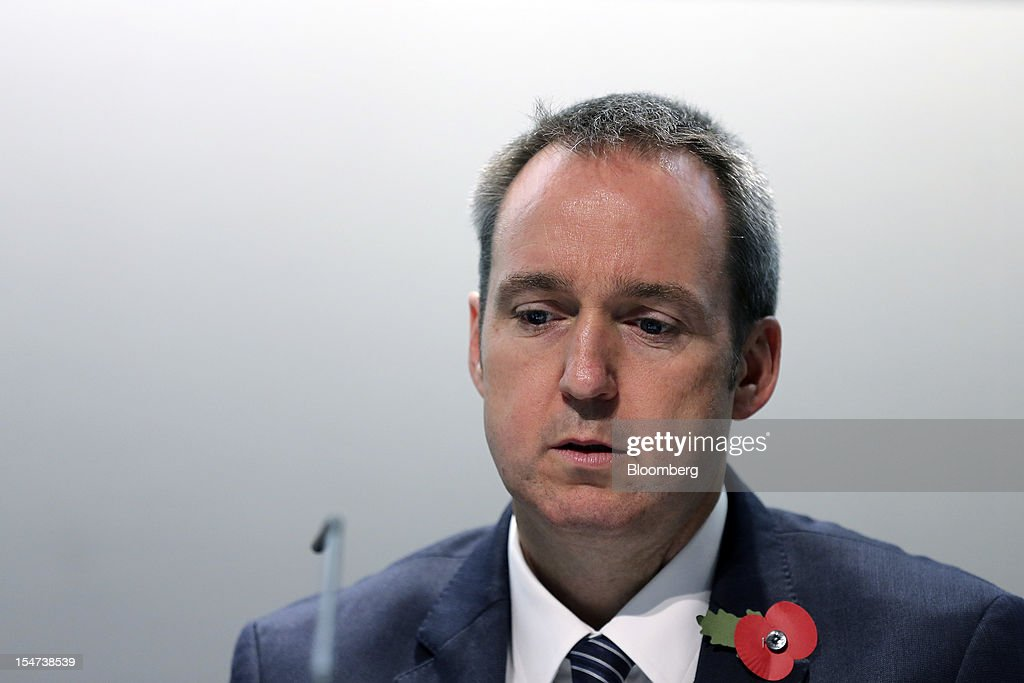 <a gi-track='captionPersonalityLinkClicked' href=/galleries/search?phrase=Graham+Kerr&family=editorial&specificpeople=1315214 ng-click='$event.stopPropagation()'>Graham Kerr</a>, chief financial officer BHP Billiton Ltd., pauses ahead of BHP Billiton Plc's annual general meeting (AGM) in London, U.K., on Thursday, Oct. 25, 2012. BHP Billiton Ltd., the world's largest mining company, expects China's growth to decline to about 7 percent to 8 percent this year and stay at this level for the next decade as the nation becomes a consumer-led economy. Photographer: Simon Dawson/Bloomberg via Getty Images
