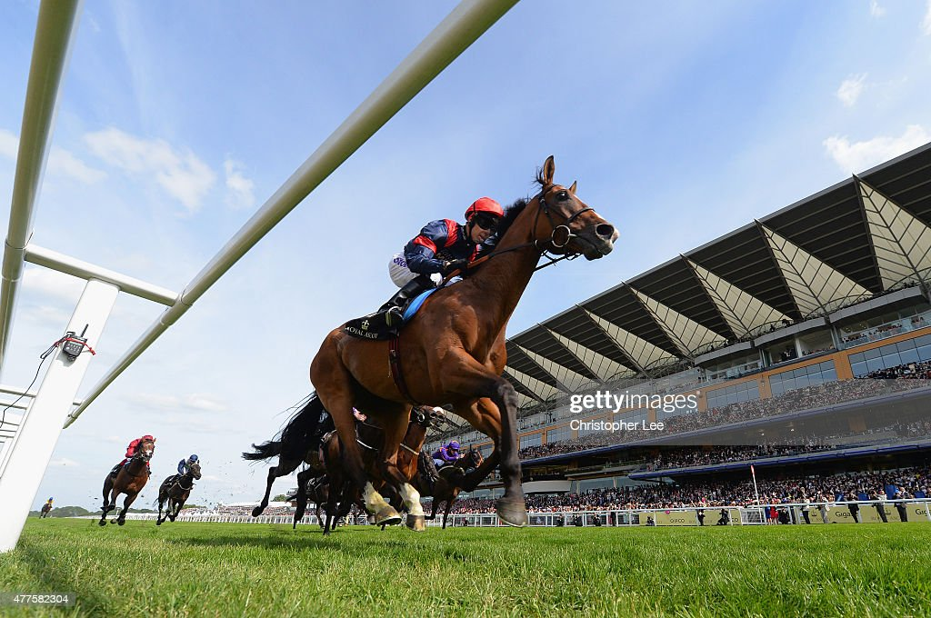 Graham Lee riding Trip To Paris wins The Gold Cup during Day 2 of Royal Ascot 2015 at Ascot Racecourse on June 17 2015 in Ascot England