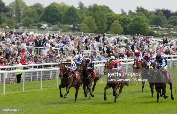 Graham Lee wins The Betfred supports Jack Berry House Stakes during day two of the Dante Festival at York Racecourse