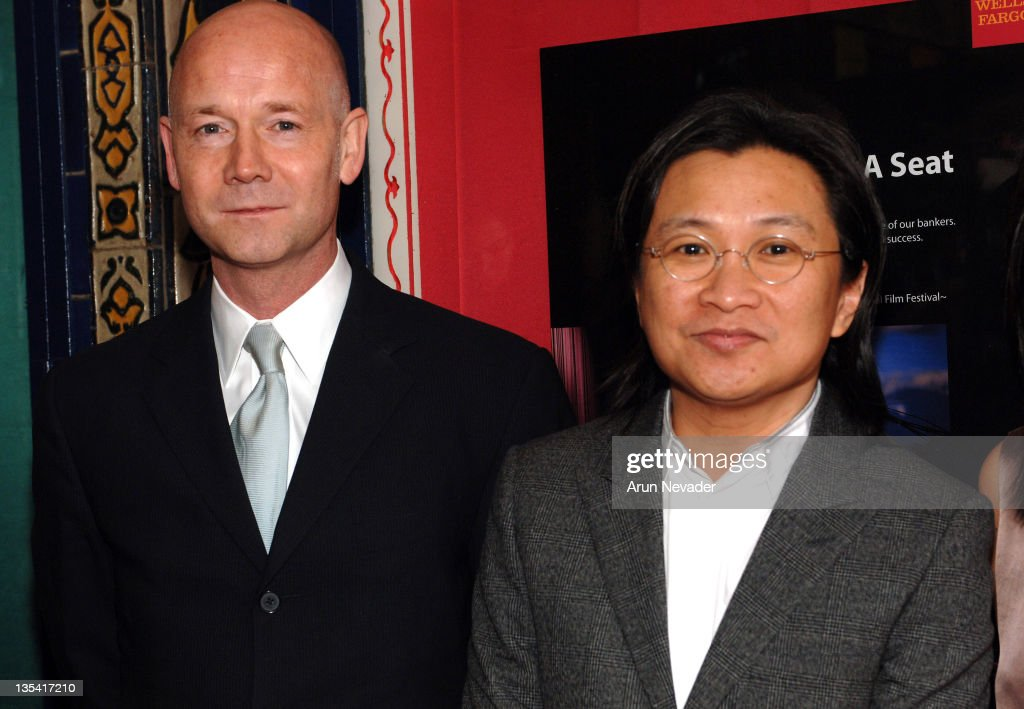 Graham Leggat, Executive Director of the San Francisco Film Society and Peter Ho-Sun Chan, Director of 'Perhaps Love'