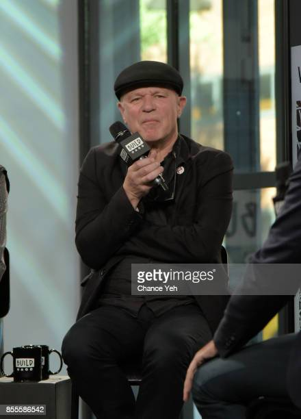 Graham Lewis of Wire attends Build series to discuss the new album 'Silver/Lead' at Build Studio on September 29 2017 in New York City