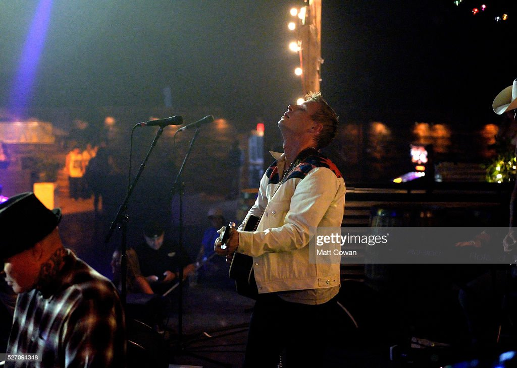 Graham Nancarrow of Nancarrow performs onstage during 2016 Stagecoach California's Country Music Festival at Empire Polo Club on May 01, 2016 in Indio, California.