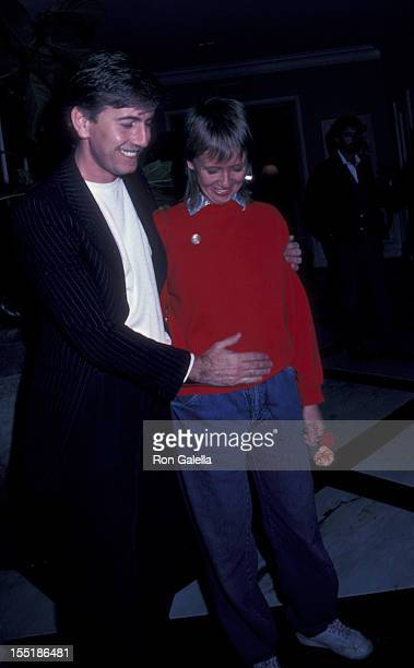 Graham Nash and Susan Sennett attend California Bilateral Nuclear Weapons Freeze Initiative Benefit Party on January 10 1982 at Bud Yorkin's home in...