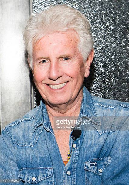 Graham Nash attends An Evening with Bernstein Diltz and Nash at The Roxy on October 28 2015 in New York City