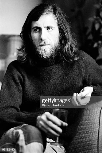 Graham Nash from Crosby Stills and Nash posed in Amsterdam Holland on July 01 1974