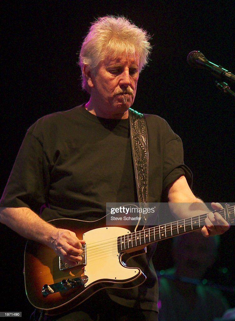 Graham Nash, members of Crosby, Stills and Nash, perform May 3, 2003 during the Music Midtown concert in Atlanta, Georgia. The Music Midtown event features over 120 international, national and local musical acts performing on 11 stages over a 3-day period on a 40 acre complex.