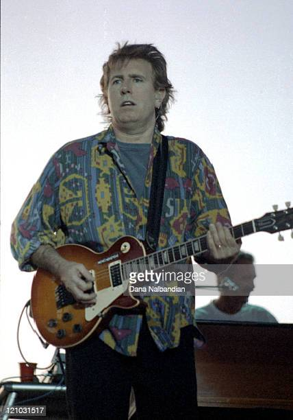 Graham Nash of Crosby Stills and Nash during Crosby Stills and Nash Performs At The Gorge In George July 9 1994 at The Gorge In George in George...
