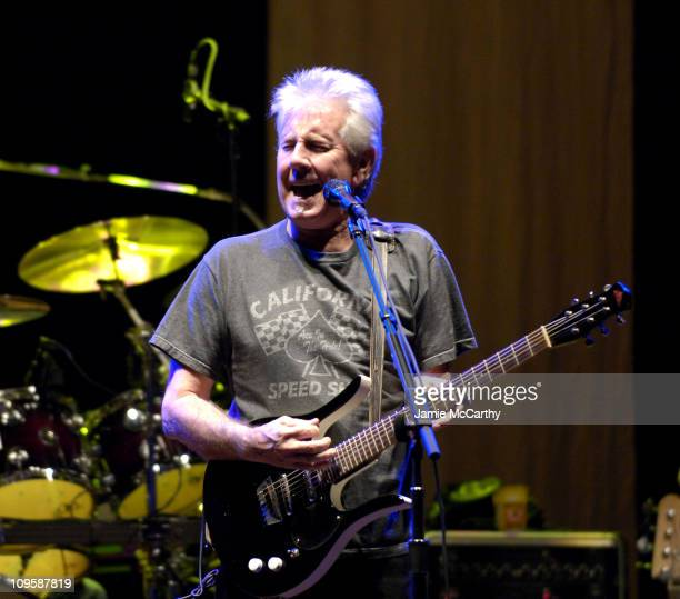 Graham Nash of Crosby Stills Nash during Crosby Stills and Nash in Concert at The Beacon Theater in New York August 1 2005 at Beacon Theater in New...
