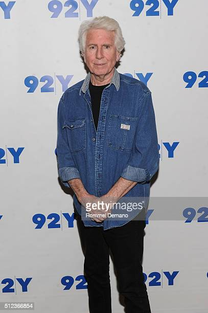 Graham Nash visits at 92Y on February 25 2016 in New York City