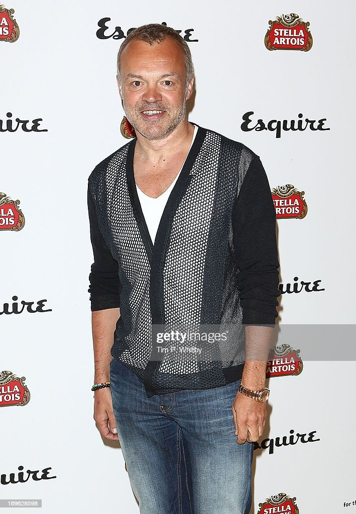 Graham Norton attends Esquire's first summer party at Somerset House on May 29, 2013 in London, England.