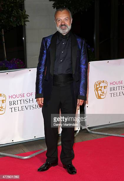 Graham Norton attends the After Party dinner for the House of Fraser British Academy Television Awards at The Grosvenor House Hotel on May 10 2015 in...