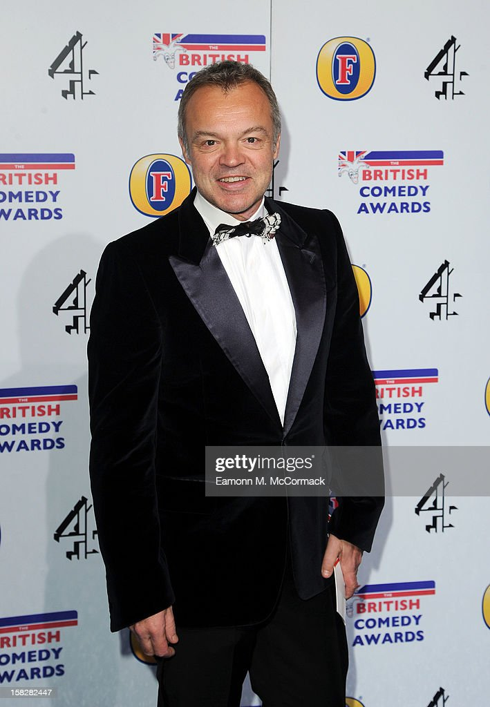 Graham Norton attends the British Comedy Awards at Fountain Studios on December 12, 2012 in London, England.