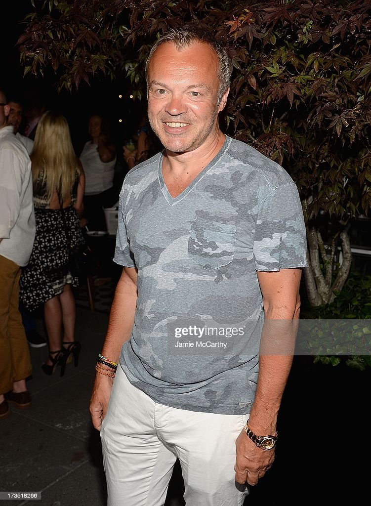Graham Norton attends The Cinema Society & Brooks Brothers Host A Screening Of Lionsgate And Roadside Attractions' 'Girl Most Likely' After Party at Hotel Americano on July 15, 2013 in New York City.