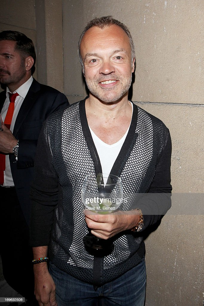 Graham Norton attends the Esquire Summer Party in association with Stella Artois at Somerset House on May 29, 2013 in London, England.