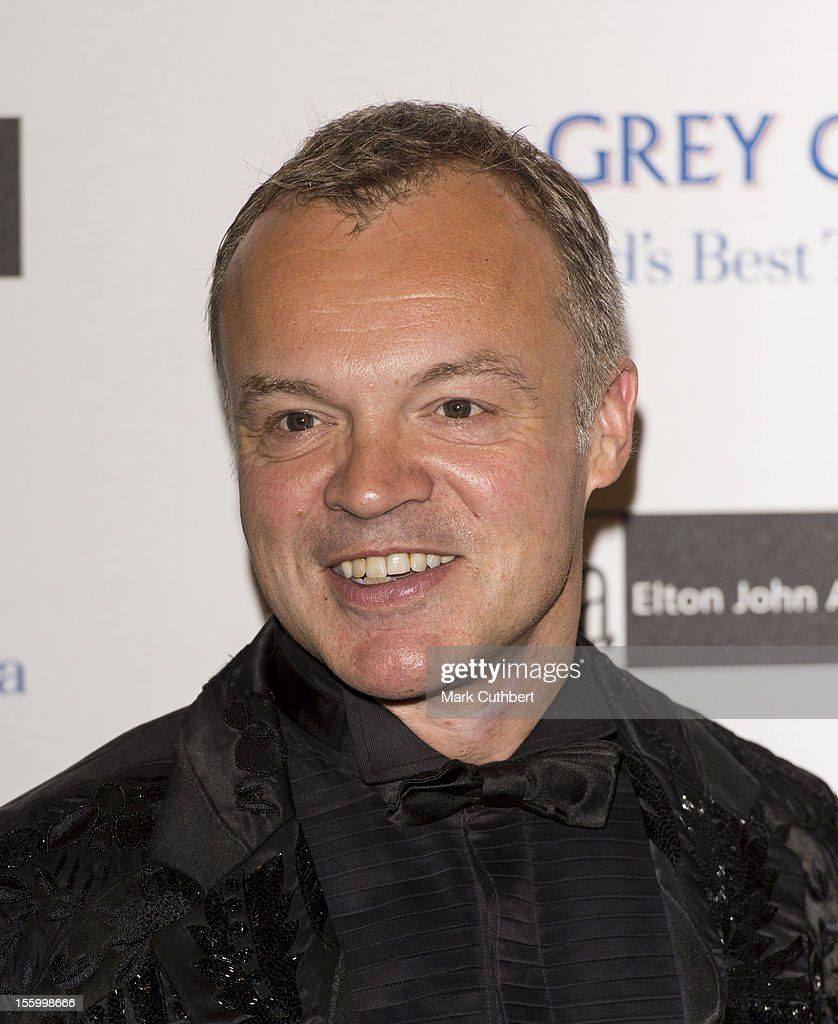 Graham Norton attends the Grey Goose Winter Ball at Battersea Power station on November 10, 2012 in London, England.