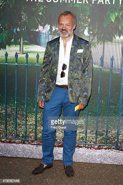Graham Norton attends the Serpentine Summer Party at The Serpentine Gallery on July 2 2015 in London England