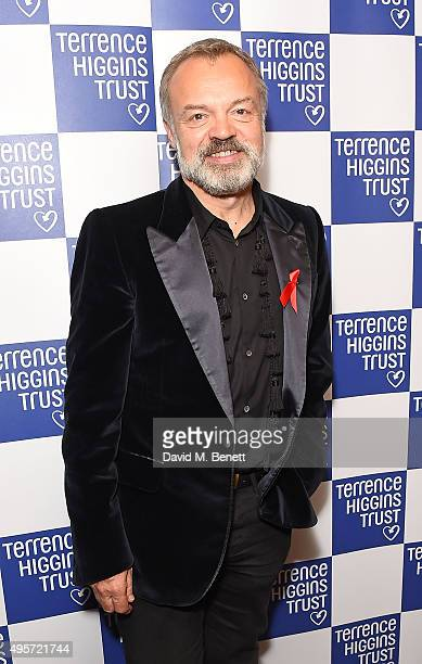 Graham Norton attends The Supper Club after party in aid of the Terrence Higgins Trust at The Drury Club on November 4 2015 in London England