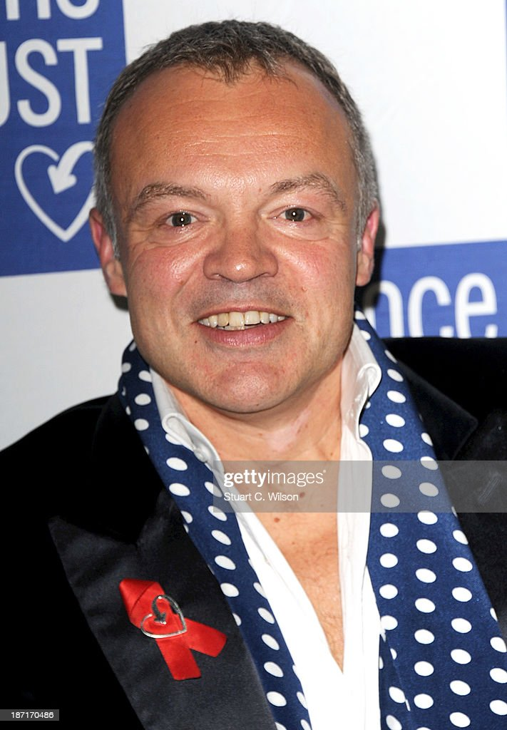 <a gi-track='captionPersonalityLinkClicked' href=/galleries/search?phrase=Graham+Norton&family=editorial&specificpeople=206423 ng-click='$event.stopPropagation()'>Graham Norton</a> attends 'The Supper Club' in aid of The Terrance Higgins Trust at One Mayfair on November 6, 2013 in London, England.