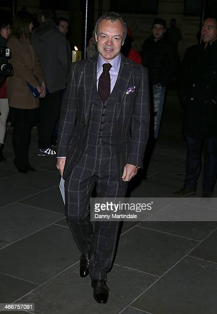Graham Norton attends the VIP private view of David Bailey Bailey's Stardust at National Portrait Gallery on February 3 2014 in London England